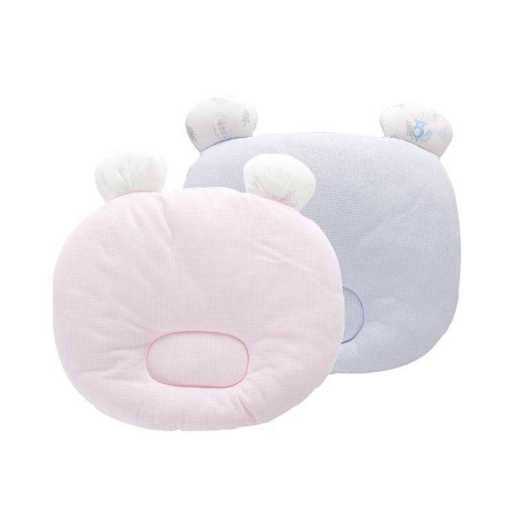 新生兒定型枕男女寶寶防偏正嬰兒卡通枕頭   ATF