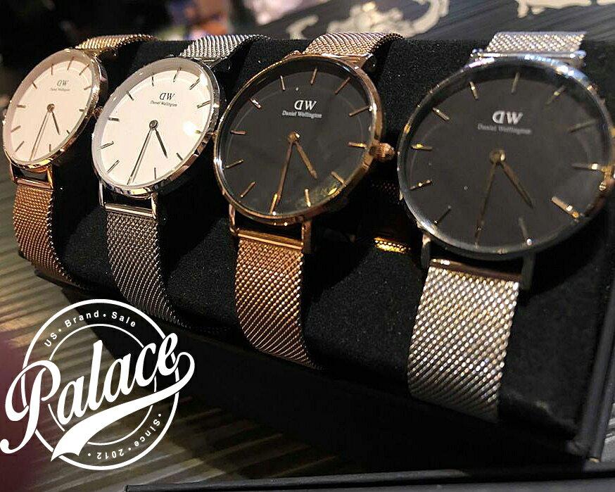 【 Daniel Wellington】 DW  精品手錶 白面 / 黑面金米蘭 28mm / 32mm  (女 保固一年 Palace store) 3