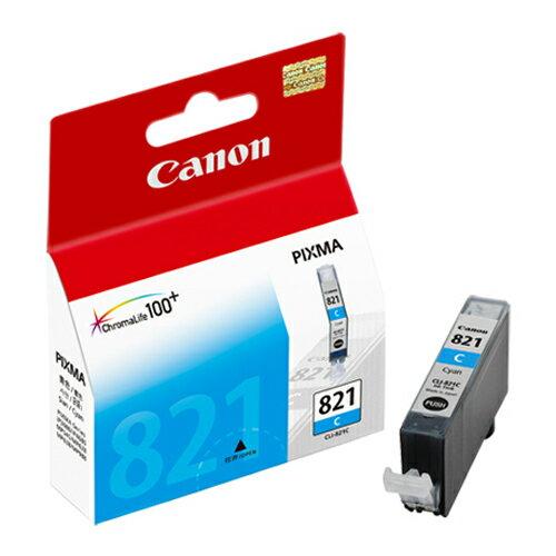 CANON CLI-821C 原廠藍色墨水匣 CLI-821 C 適用 IP3680/IP4680/IP4760