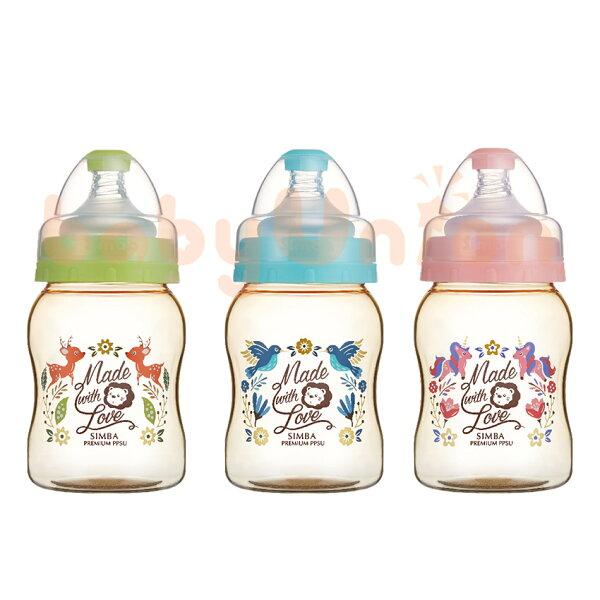 Simba小獅王辛巴-桃樂絲-PPSU寬口葫蘆小奶瓶200ml
