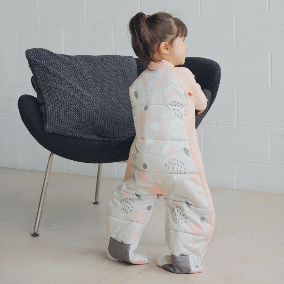 澳洲【ergopouch】2way 有機棉褲型防踢被-杏花 (3.5TOG 冬天專用) 1