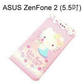 Hello Kitty 彩繪皮套 [甜點] ASUS ZenFone 2 ZE550ML ZE551ML Z00AD Z008D【三麗鷗正版授權】