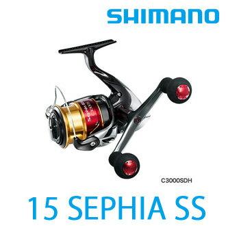 漁拓釣具15 SEPHIA SS C3000S.C3000SDH.C3000HGS. C3000HGSDH