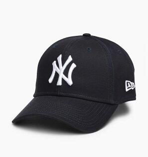 美國百分百【全新真品】NewEra帽子老帽棒球帽紐約洋基Yankees大聯盟MLB潮人必備深藍J083