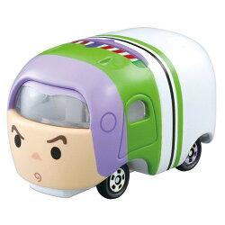 大賀屋 TOMICA 小汽車 TSUM 巴斯光年 多美小汽車 疊疊樂 汽車 皮克斯 玩具總動員 迪士尼 正版授權 L00010048