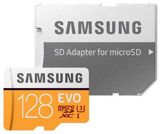 luckycard SAMSUNG 128GB 128G microSDXC【EVO 100MB/ s】EVO microSD SDXC U3 C10 4K MB-MP128GA 手機記憶卡