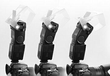 又敗家@GamiLighto多功能機頂閃燈反光板柔光罩2合1外閃光燈反光板柔光罩柔光盒Event Pro(大L-Mount)適Nikon尼康SB-910 SB-900 Canon佳能600EX 580..