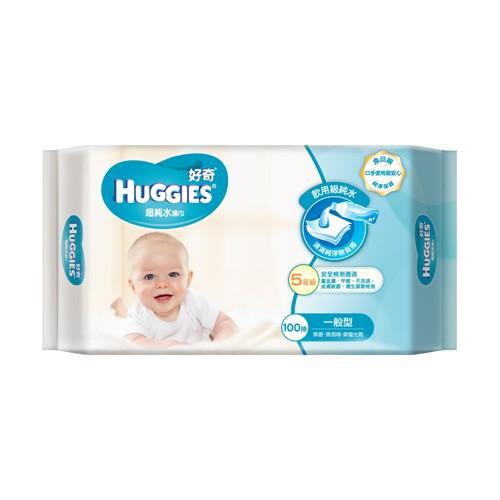 【好奇】純水嬰兒濕巾一般型100抽(3包x6組/箱)