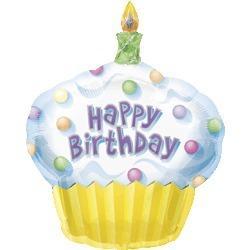 生日蛋糕數字20氣球