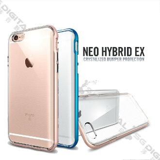 ~斯瑪鋒數位~Spigen SGP Apple iPhone 6/6S Plus Neo Hybrid EX 強化邊框透明軟殼