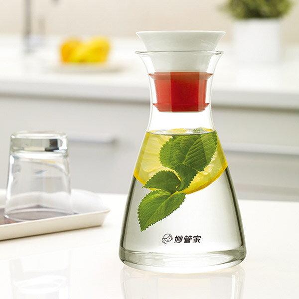 妙管家陶瓷玻璃壺/冷水壺1.0L HKP-028B - 限時優惠好康折扣