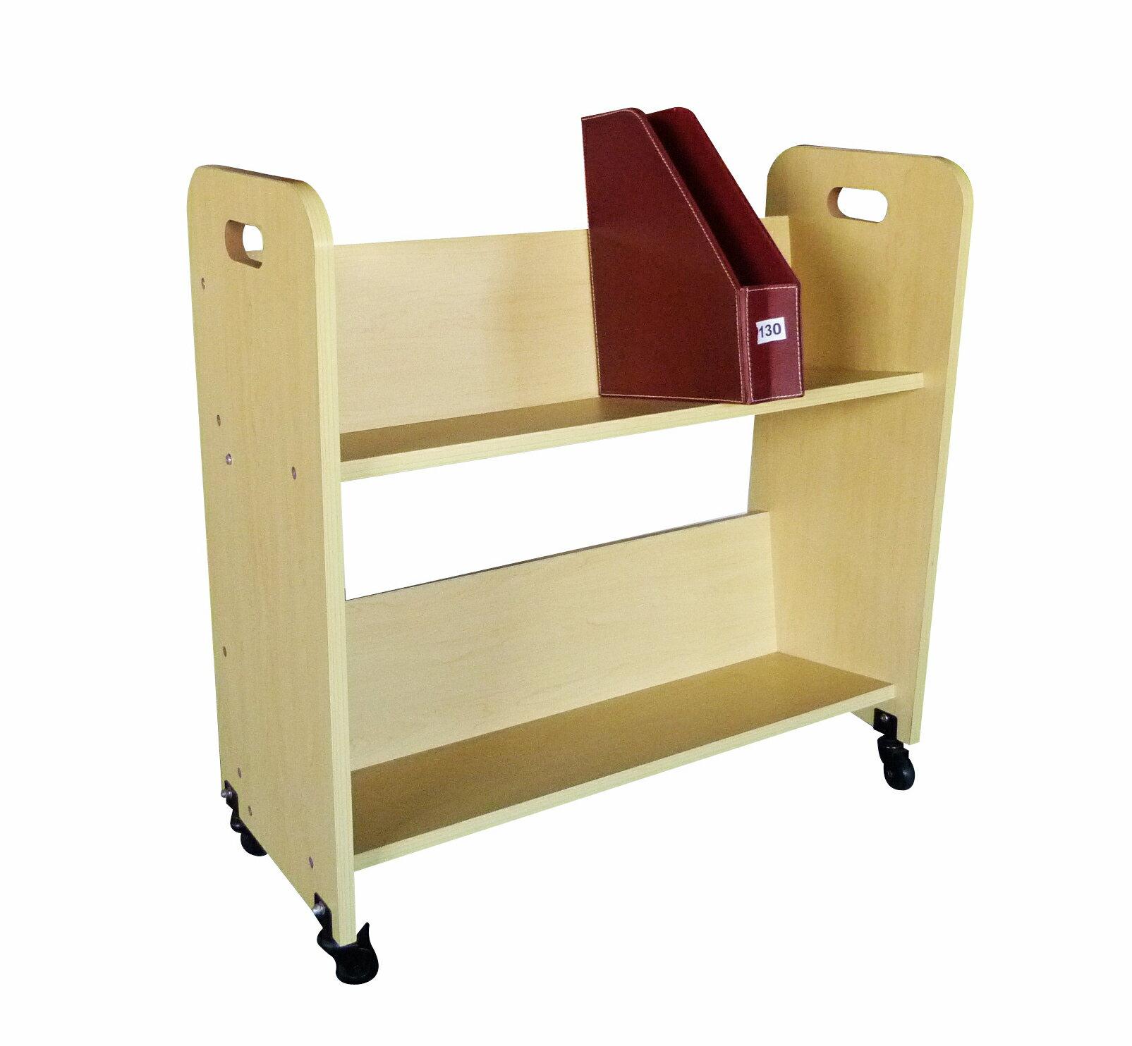 Wood Book Cart Library Cart Pew Cart