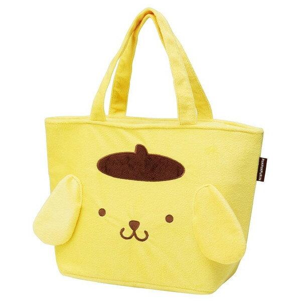 【真愛日本】16050500037保冷提袋M-PN黃 三麗鷗家族 布丁狗 便當袋 便當盒 收納