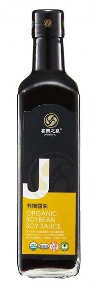 《小瓢蟲生機坊》喜樂之泉 - 有機醬油 500ml/瓶 調味品 醬油