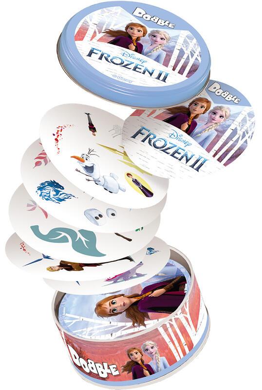 嗒寶 冰雪奇緣2 DOBBLE FROZEN II 繁體中文版 高雄龐奇桌遊 桌上遊戲專賣 玩樂小子