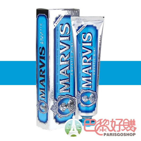 義大利Marvis牙膏-海洋薄荷85ML