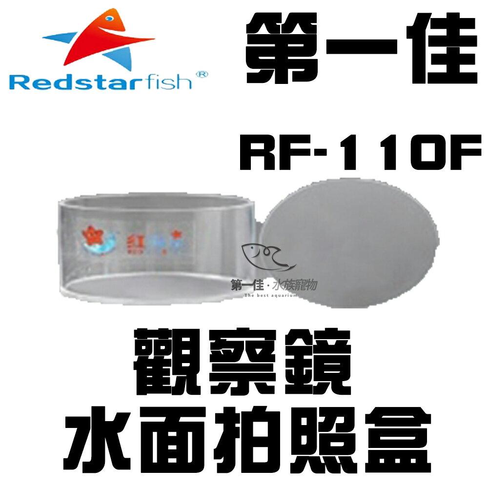 [第一佳 水族寵物]紅海星 REDSTARFISH 水面拍照盒/觀察鏡(五X放大) RF-110F