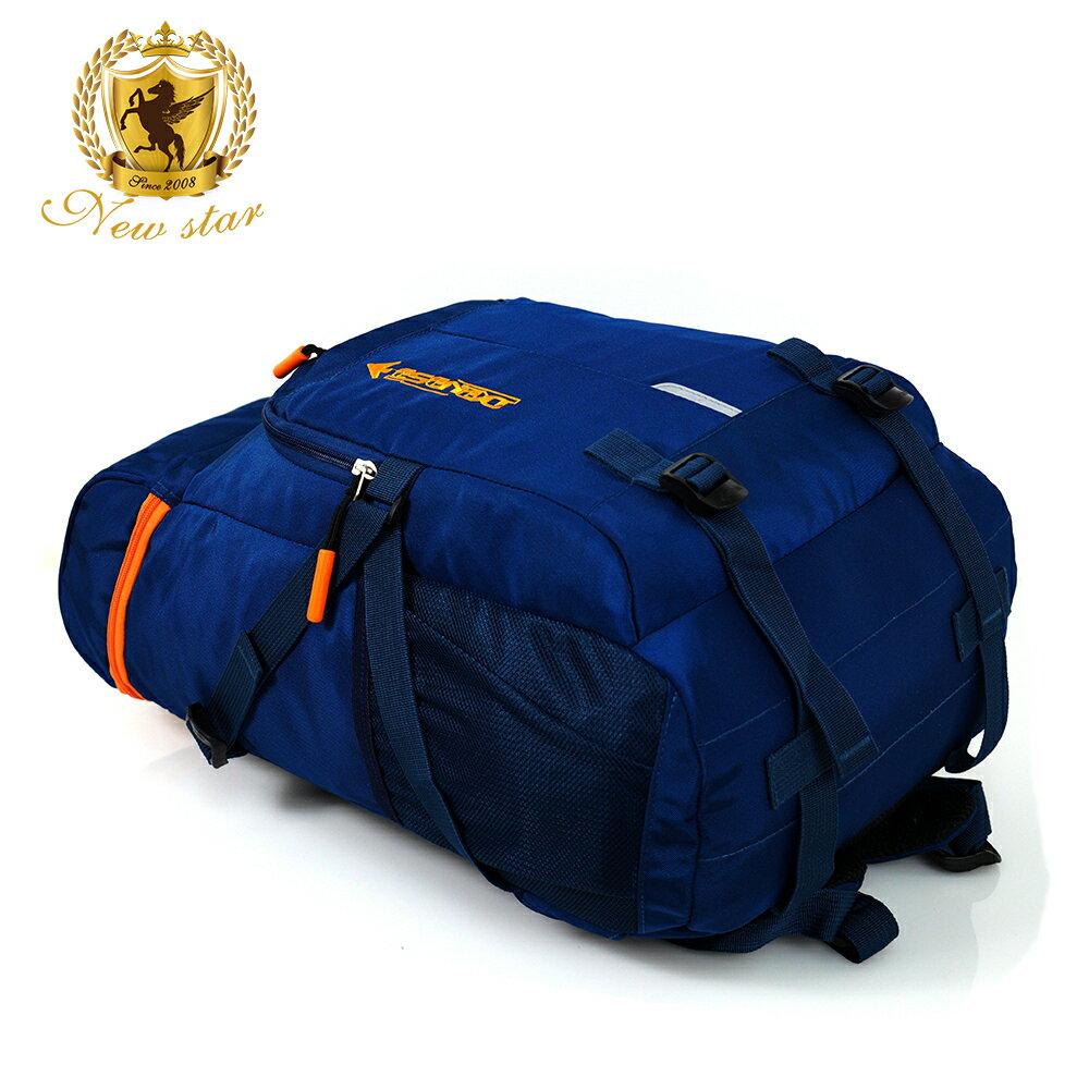 運動輕時尚撞色防水大容量後背包 NEW STAR BK229 4