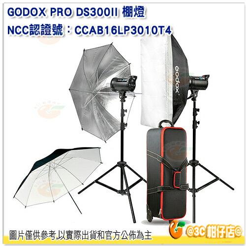 神牛 Godox DS300II X2 KIT 玩家棚燈二代 雙燈套組 公司貨 攝影燈 閃光燈 棚燈
