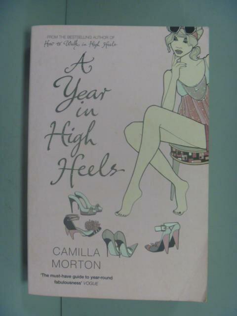 ~書寶 書T1/原文小說_GRX~A Year in High Heels_Camilla
