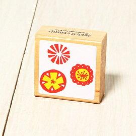 「Kodomo小孩牌」北歐系列小印章-北歐花朵切片