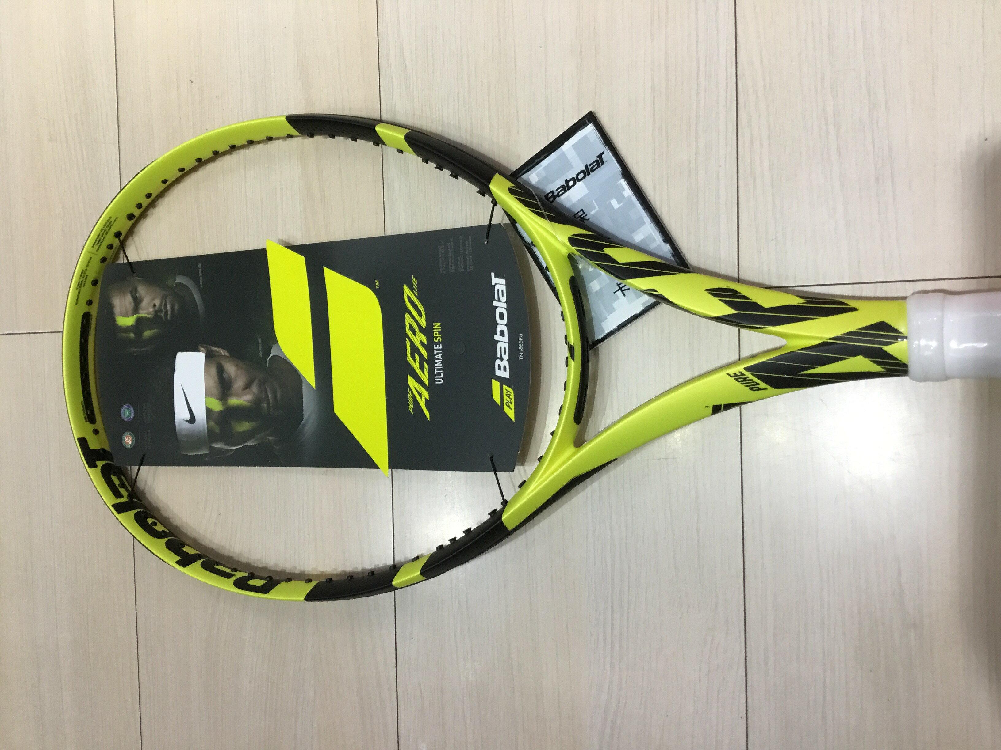 2018 Babolat Pure Aero Lite專業網球拍