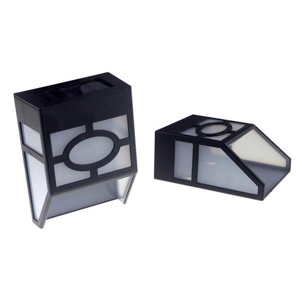 (光控)太陽能復古壁燈歐式太陽能籬笆燈室外燈門燈籬笆燈六角壁燈景觀燈庭園燈裝飾燈壁燈