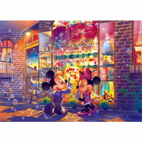 【進口拼圖】迪士尼 DISNEY-黃昏的玩具店 - 夜光 108 pcs ( SN : 4905823847022 ) D108-703