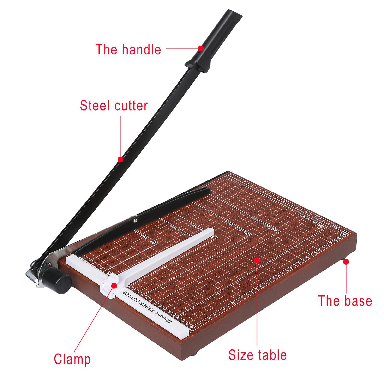 Wooden A3-B7 paper cutter 1
