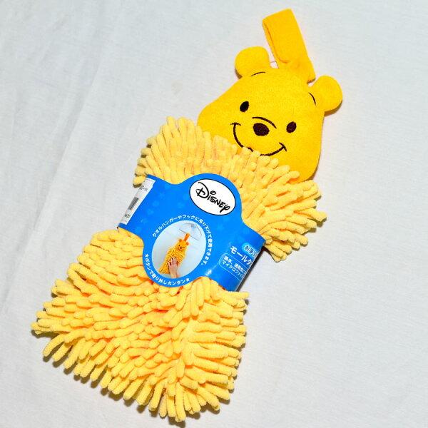 小熊維尼大擦手布吸水速乾立體剪裁日本帶回正版商品Pooh