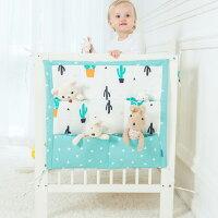 嬰兒床 寶寶 收納袋 奶瓶尿布掛袋