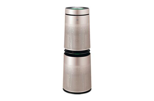 加贈專用濾網【和信嘉】LG樂金PuriCare360°空氣清淨機-雙層AS951DPT0(金色)
