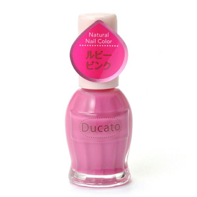 Ducato 自然潤澤指甲油-18粉紅寶石N 11ml《日本製》
