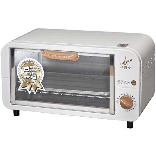 伊娜卡時尚電烤箱 8L - ST-7013