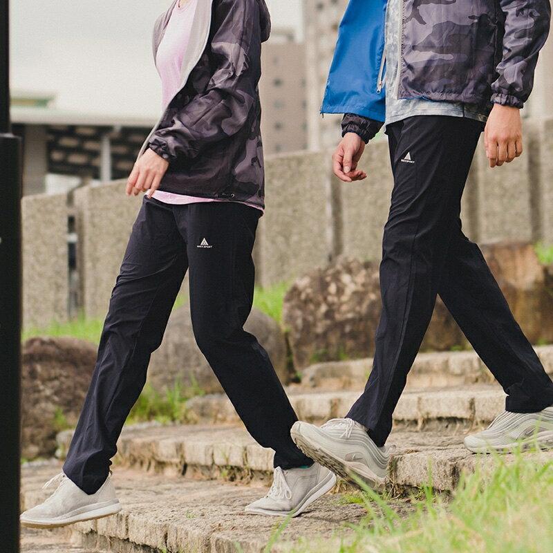 AREXSPORT 戶外休閒輕薄防水耐磨速乾修身運動衝鋒褲 防潑水材質 男女共版 加大尺碼 AS-7159 S-4L 4