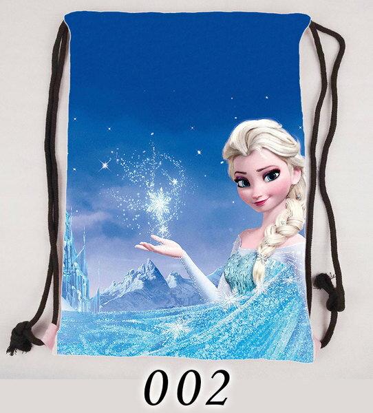 【憶童趣】動漫 冰雪奇緣 束口袋後背包