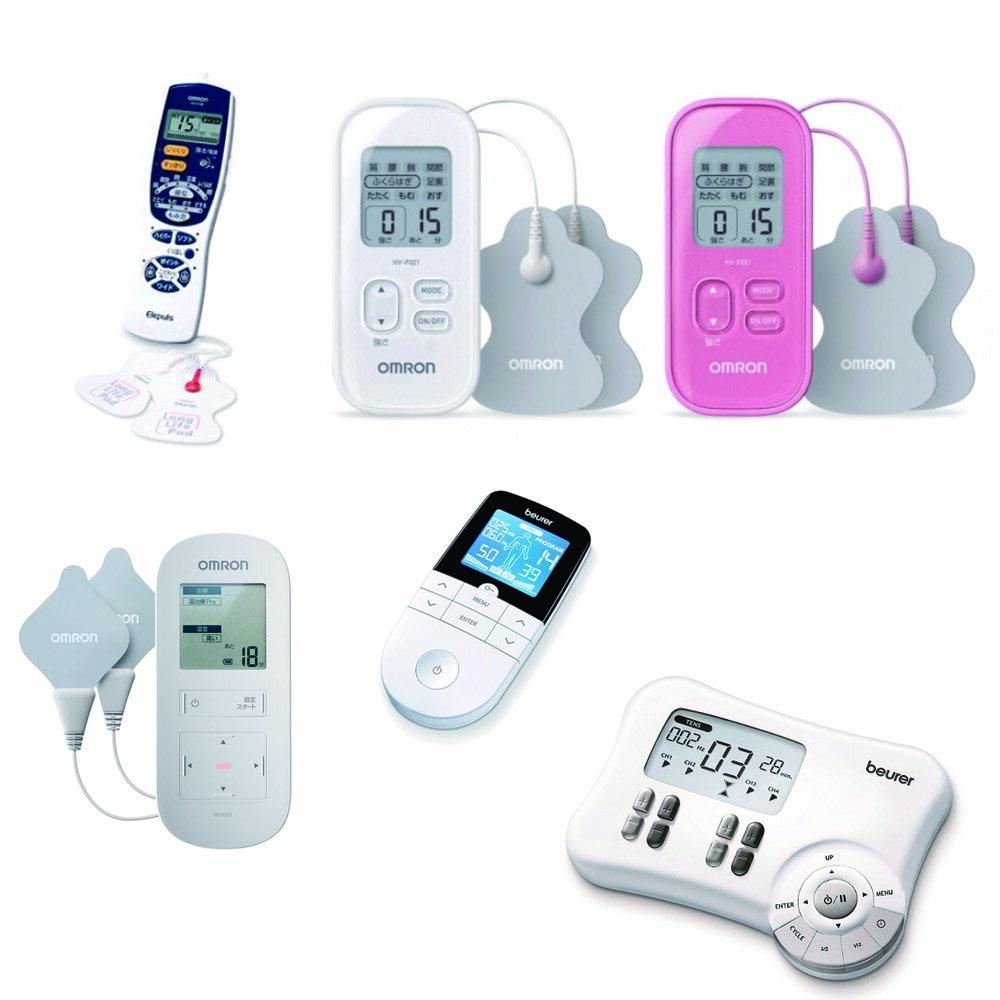 OMRON低週波治療器 HV-F128 HV-F021 HV-F311 德國博依beurer 低週波治療儀 EM49 EM80