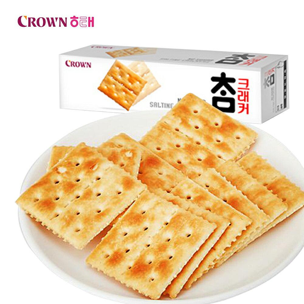 韓國Crown 蘇打餅乾(56g)