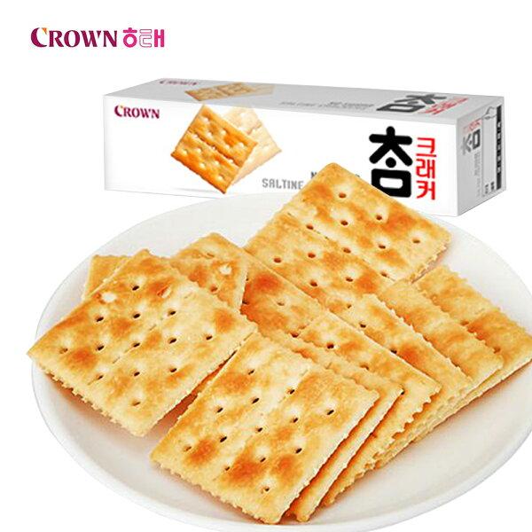 韓國Crown蘇打餅乾(56g)