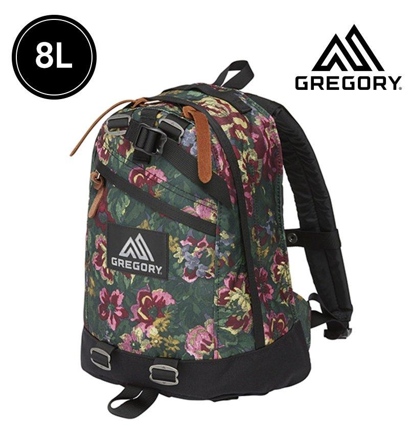 【【蘋果戶外】】GREGORY 115441-0511 花園油彩 LITTLE STEPS DAY 8L 日用雙肩休閒後背包 多口袋設計 雙向拉鍊設計 筆電包 書包