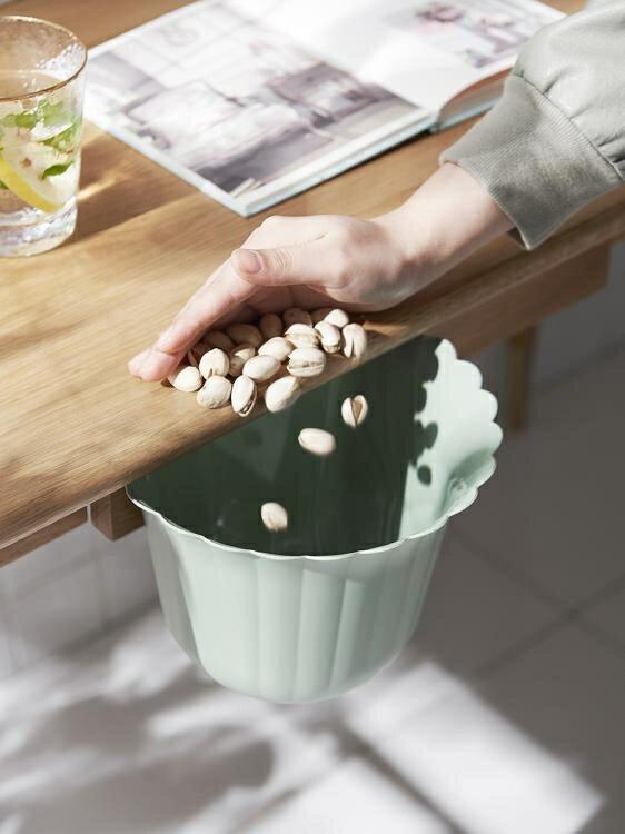 垃圾桶 廚房垃圾桶掛式分類雜物桶家用衛生間宿舍壁掛收納桶櫥柜門專用XL 果果輕時尚