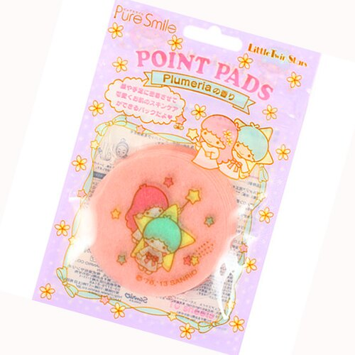 日本Sanrio 雙子星頰膜 1包10入  Kiki Lala 限定款 卡通聯名 《ibeauty愛美麗》