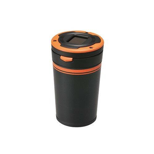 ~禾宜 ~菸灰缸 CARMATE DZ286 太陽能式 LED菸灰缸 橘  車用 LED