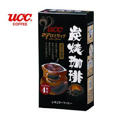 日本【UCC】炭燒便利沖咖啡(4入/盒)