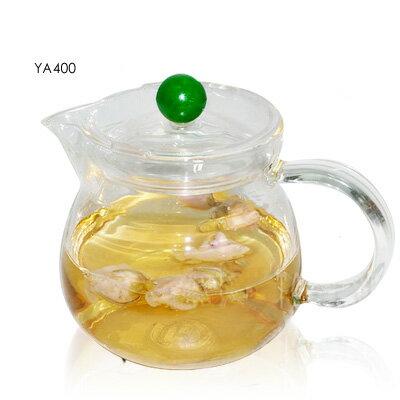 《YAMA》亞美耐熱沖泡壺/花茶壺400ml /YA400