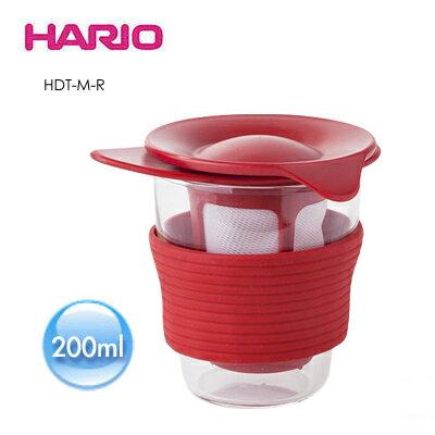 《HARIO》獨享耐熱冷泡杯/ 200ml / HDT-M-R / 紅色