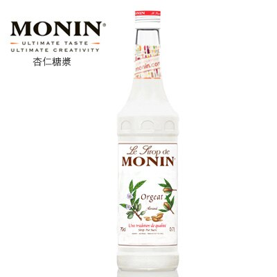 【MONIN】Orgeat / 杏仁糖漿★1月限定全店699免運