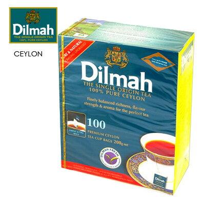 【Dilmah帝瑪】錫蘭紅茶 2gX100入/盒★1月限定全店699免運
