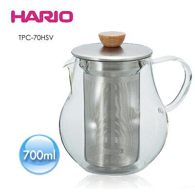 ~HARIO~Tea Pitcher 極簡花茶壺700ml   TPC~70HSV