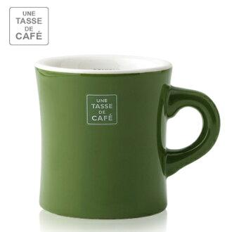 【 Meister Hand 】UN CAFÉ馬克杯 300ml / 墨綠色 Green